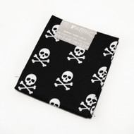 Darice Fabric Fat Quarter - Skull and Crossbones
