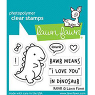 Lawn Fawn Rawr Stamps