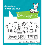 Lawn Fawn Love You Tons Stamps