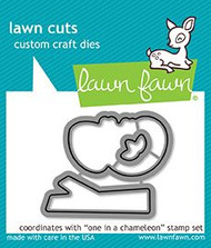 Lawn Fawn One in a Chameleon Die