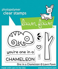 Lawn Fawn One in a Chameleon Stamps