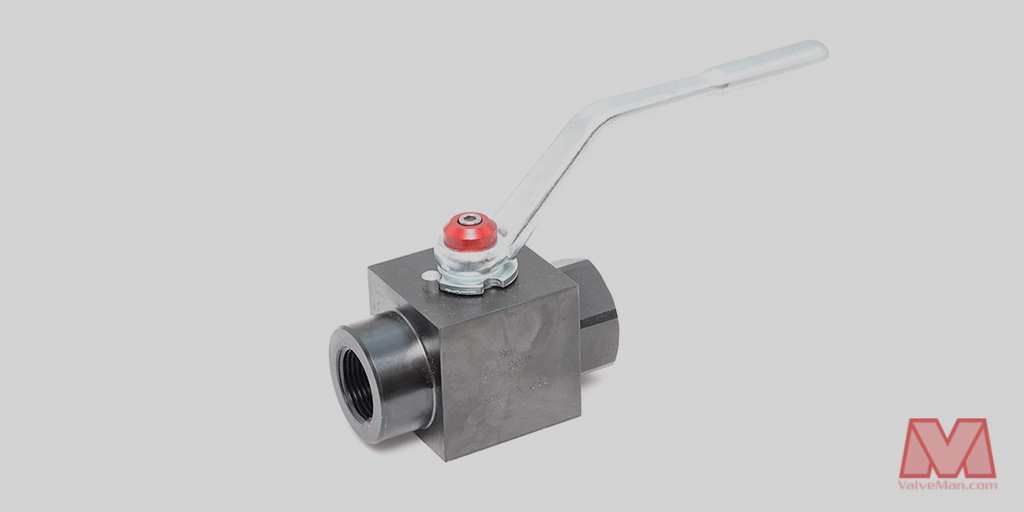 High pressure ball valves available at valveman