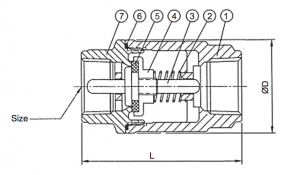 Schematic Drawing of the JFlow 6833
