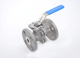 JFlow DM2533 - 2 Piece, SS, Flanged, Manual Ball Valve