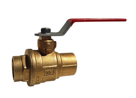 "3"" Red White Valve 5049F - ValveMan.com"