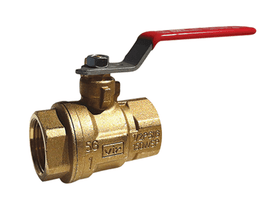 "3"" Red White Valve 5044F - ValveMan.com"