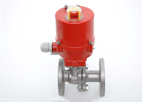 "2"" JFlow JFlow DM2533 Flanged Ball Valve with Electric Actuator - ValveMan.com"