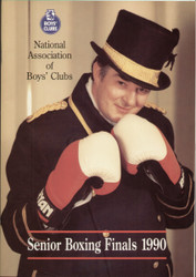 original programme for the Boys' Clubs Senior Boxing Finals 1990.