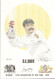portrait of David Boon, Australia, Wisden cricketer of the year 1994. The artwork is by official Wisden artist Denise Dean and is issued as a limited edition of 150, this being 98.
