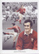 Superb montage showing Phil Bennett in action for Wales.