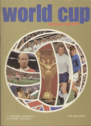1970 Football Monthly World Cup Souvenir Brochure  On offer is an original Official souvenir brochure for the 1970 World Cup finals held in Mexico.  The brochure was produced by football monthly and Goal and features details of all the players, fixtures and the venues.