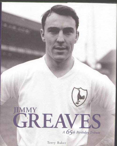 Jimmy Greaves signed book