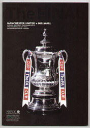 original Official 2004 FA Cup Final programme. The game, Manchester United V Millwall was played on 22nd May 2004 at the Millennium Stadium, Cardiff.