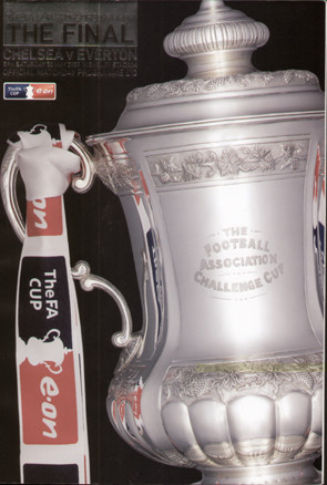 original Official 2009 FA Cup Final programme. The game, Chelsea V Everton was played on 30th May 2009 at Wembley Stadium.