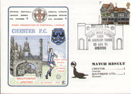 original first day cover to celebrate Chester City's first game in Division Three 1975, issued in August 1975. Complete with original filler card.
