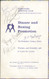 original boxing programme/menu for bouts held at Derbyshire Sporting Club on 24 November 1966. The menu has been signed by boxing legends Jack Bodell, George Biddles and 3 unknown signatures.
