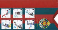 2006 World Cup Winners Royal Mail Mint Presentation Pack No. 284 * Royal Mail British Collector Stamps in Presentation Pack, with plastic sleeves and inserts, all stamps mint, unhinged