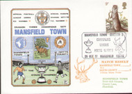 original first day cover to celebrate Mansfield Town as Division III Champions, issued in October 1977. Complete with filler card.