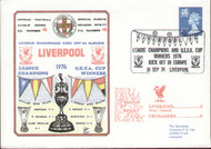 original first day cover to celebrate Liverpool in Europe 1976, issued in September 1976.