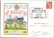 original first day cover to celebrate Wrexham's first ever season in Division 2, issued in September 1978. Complete with filler card.