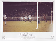 Liverpool's Alan Kennedy celebrates his winning goal against Real Madrid in the European Cup Final held at the Parc des Princes, in May 1981.