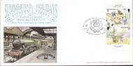 original first day cover to celebrate The Manchester City Centenary Tour 1994 - The manx Charity Shield. Issued July 1994. No filler card.