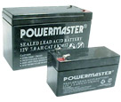 Powermaster range of lead acid sealed batteries for ups, security, laboratory, and pabx applications