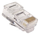 modular RJ45 RJ11 RJ plugs and sockets
