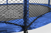 StagedBounce 14' Trampoline with Enclosure