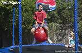 Trampoline Hoppy Balls