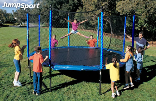 SoftBounce 14ft Trampoline with Enclosure