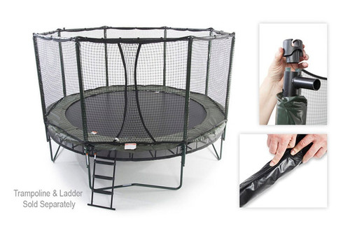 NEW Octagon Trampoline Enclosure Kit