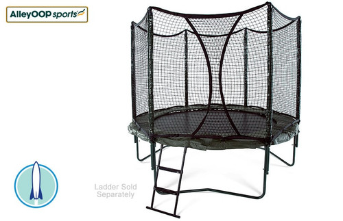 AlleyOOP PowerBounce 10' Trampoline with Enclosure