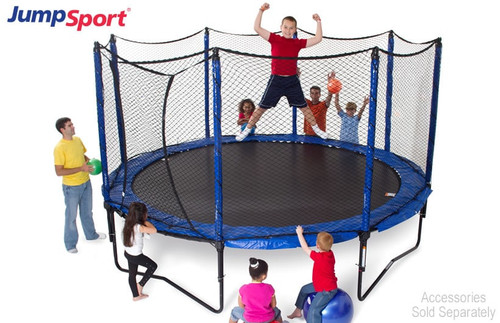 PowerBounce 14 ft Trampoline with Enclosure