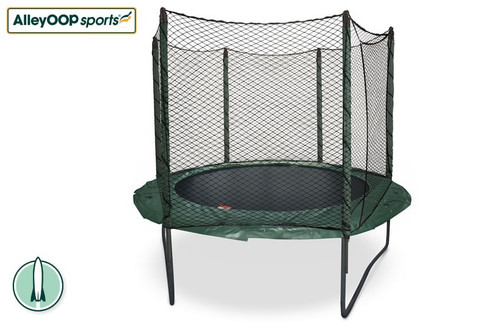 Original AlleyOOP PowerBounce 10' Trampoline with Enclosure