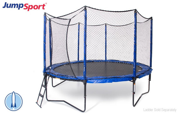 PowerBounce 12' Trampoline with Enclosure