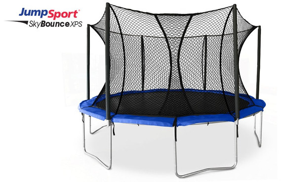 JumpSport SkyBounce XPS 14 ft Trampoline with Enclosure