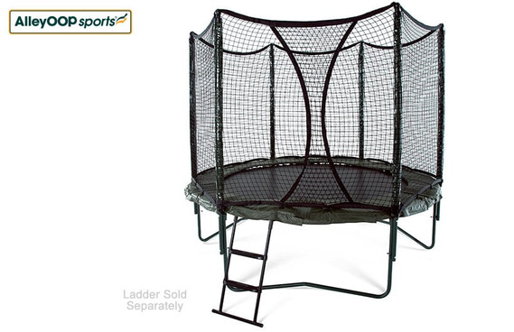 VariableBounce 10' Trampoline with Enclosure