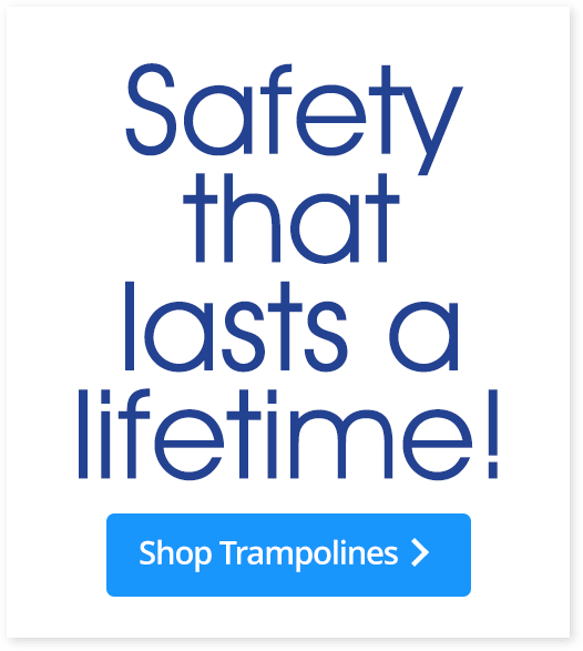JumpSport & AlleyOOP Sports Backyard Trampolines - Safety that lasts a lifetime