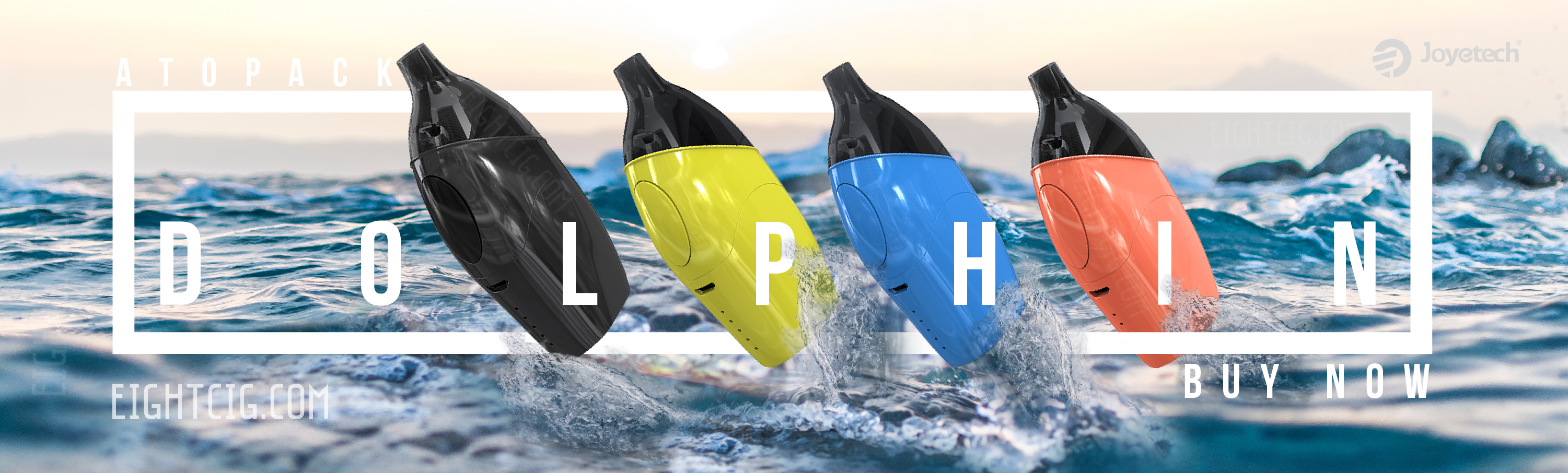 joyetech atopack Dolphin available at eightcig wholesale