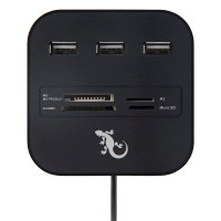 Gecko Hub and Card Reader - Black