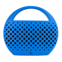 Gecko Bluetooth Speaker with Carry Handle - Blue
