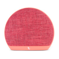 Gecko Designer Fabric Bluetooth Speaker - Coral