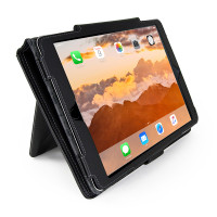 "Gecko Deluxe Folio for iPad 5 & iPad Air 1/2 & iPad Pro 9.7"" - Black"