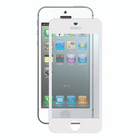 Gecko Bubble-Free Screen Protector for iPhone 5/5s/SE - White - 2 Pack