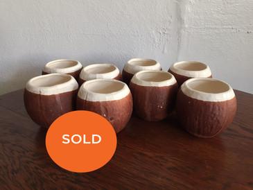 Coconut Ceramic Cups