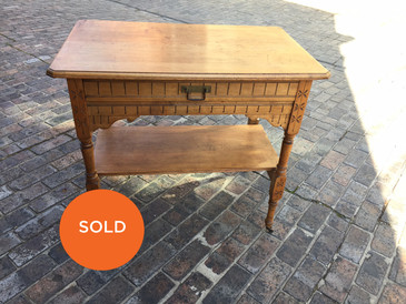Eastlake side table
