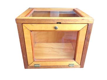 Vintage Wooden Box, Tabletop Display Piece