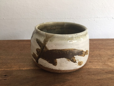 Vintage Studio Pottery, Mottled Bowl