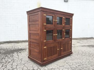 Antique McCray Icebox Refrigerator Cabinet